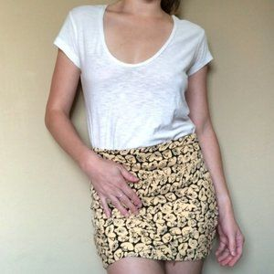 Free People NWOT Daytime Floral Mini Skirt